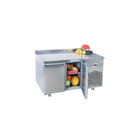 Mesa refrigerada GN 1/1 2 puertas